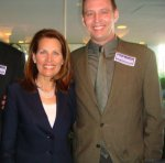 Steven Tucker with Michelle Bachman