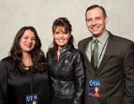 Steven Tucker with Sarah Palin