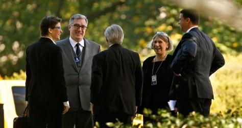 Rachel Maddow (NBC), Keith Olberman (Former NBC), David Brock (Media Matters CEO), Anita Dunn (White House Communications Director), Dan Pfieffer (White House Communications Director).
