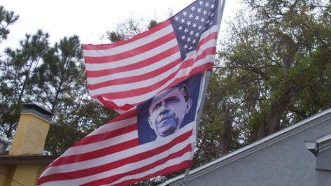 Obama Flag Lake County Democratic Party