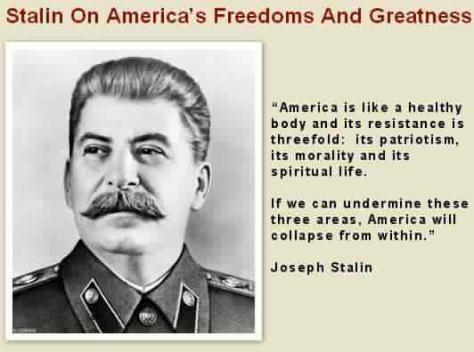 Stalin on America