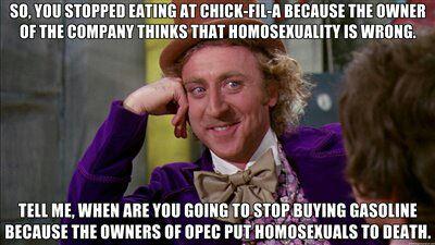 Chick-fil-a OPEC