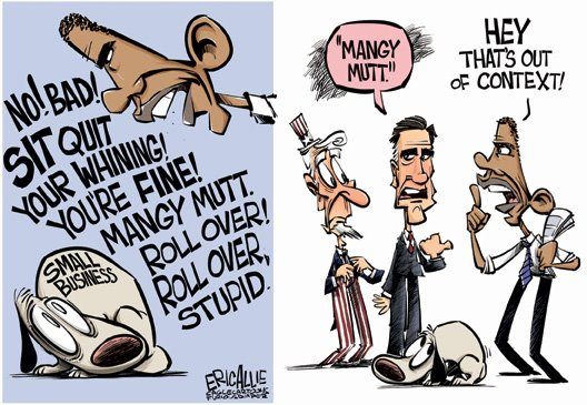 Romney Obama Built Out of Context