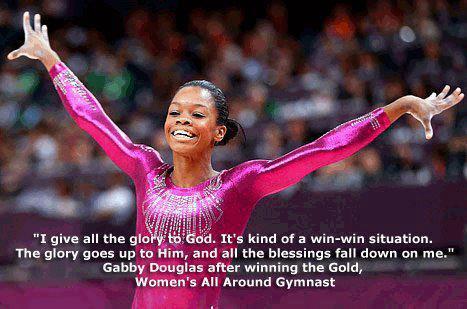 Gabby Douglas Glory to God