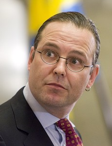 Sweden Finance Minister Anders Borg