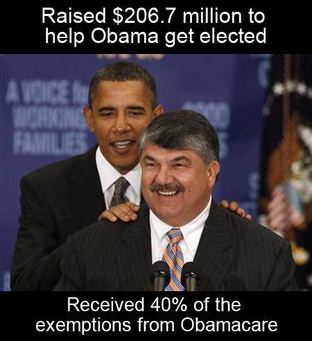 AFL/CIO Union Leader Rich Trumka