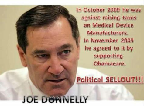 Joe Donnelly medical device manufacturers