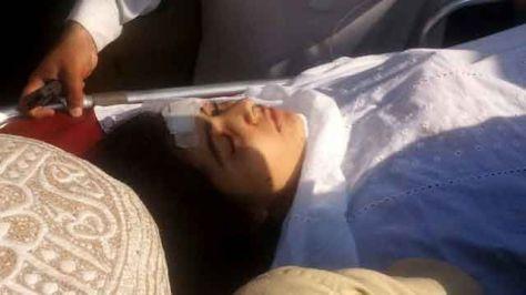 14-year-old Malala Yousufzai