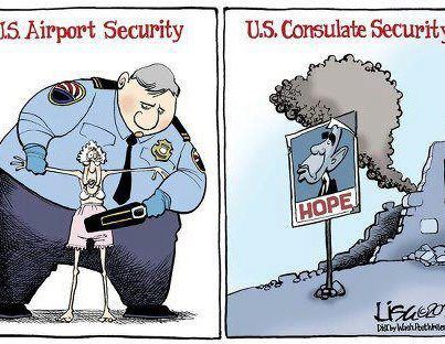 Airport Security vs Embassy Security