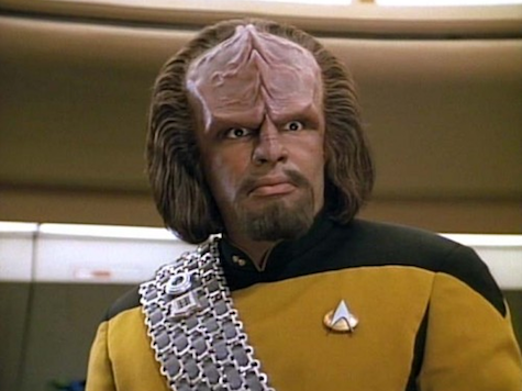 Worf is not pleased