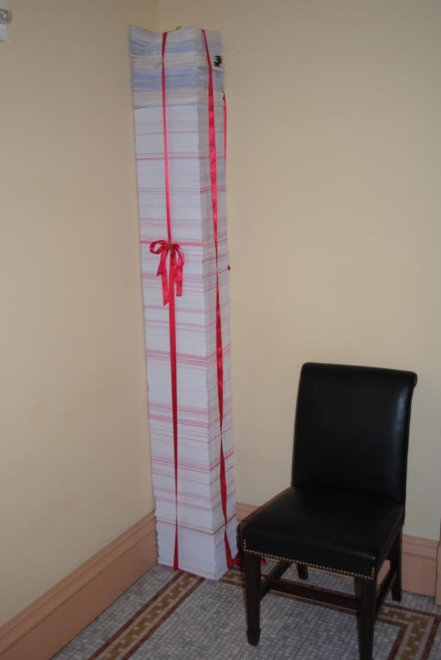 Obamacare regulations printed