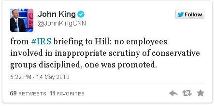 CNN John King IRS