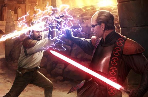 Kyle Katarn battles Jerec