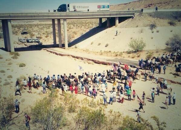 Bundy Ranch wow outnumbered