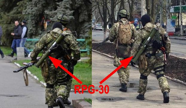 pro russian separatists in Eastern Ukraine