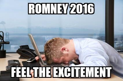 Romney 2016 feel the excitement