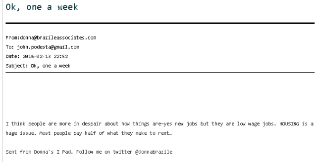 donna-brazile-hillary-email-economy-in-dispair