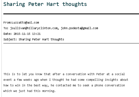peter-hart-poll-wsj-to-hillary-camp-podesta