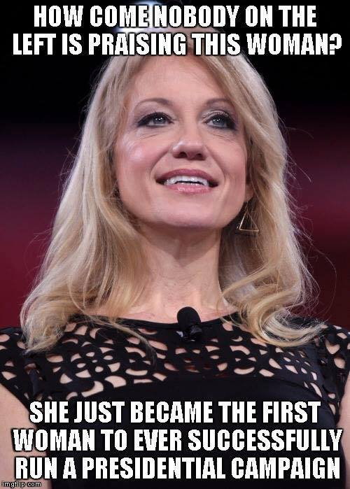 kellyanne-conway-first-woman-to-run-prez-campaign