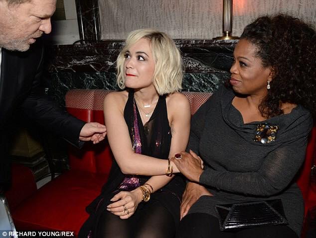 Oprah Weinstien and blonde