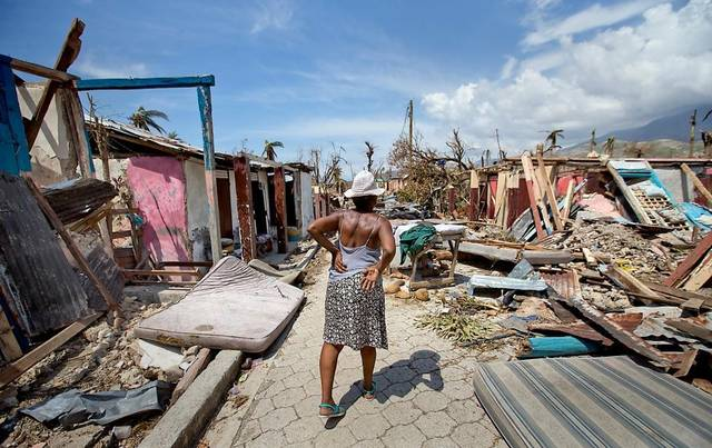 haiti after the hurricane