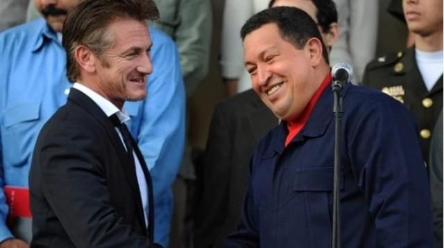 Sean Penn w Hugo Chavez