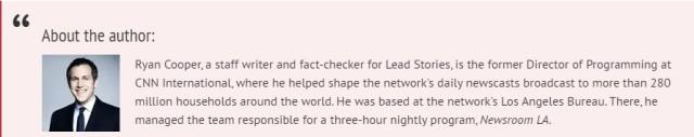 hoax alert fact checker is a CNN hack