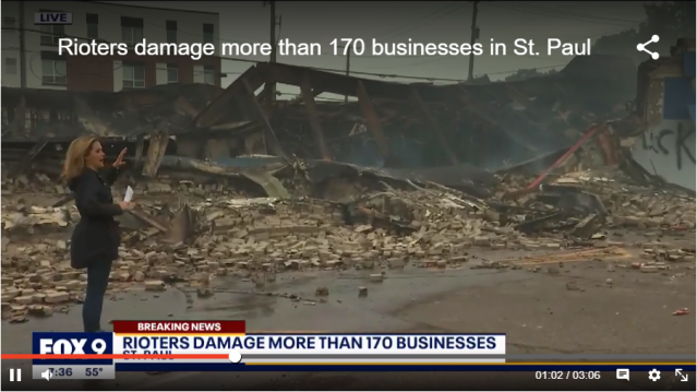 riots in st paul destroy 170 biz