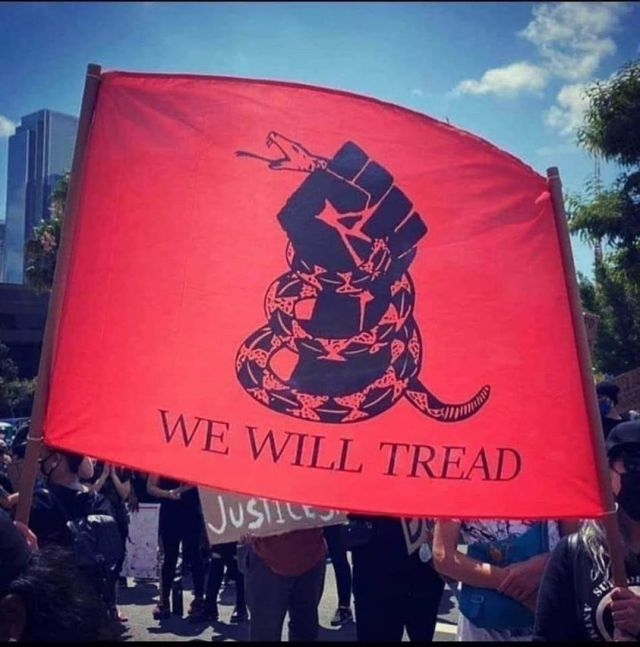 we will tread