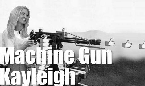 machine gun Kayleigh