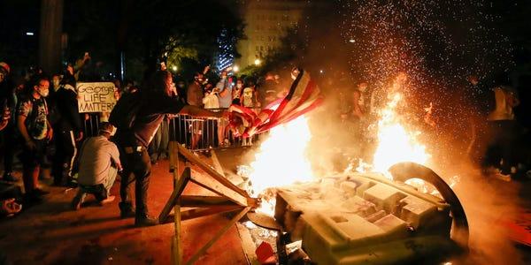 antifa blm riot