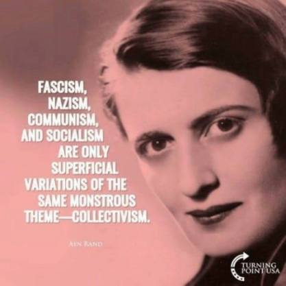 ayn rand soiclism is all the same