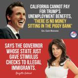 california blew the unemployment cash