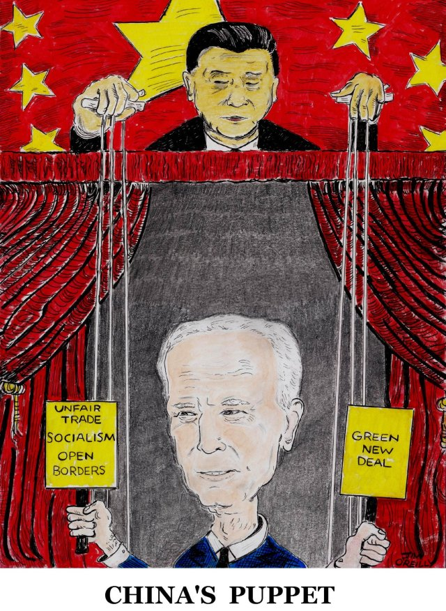 china joe biden