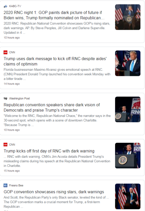 elite media RNC dark