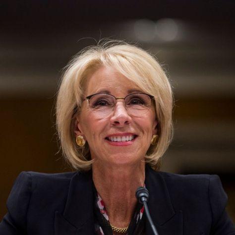 Education Sec. Betsy DeVos